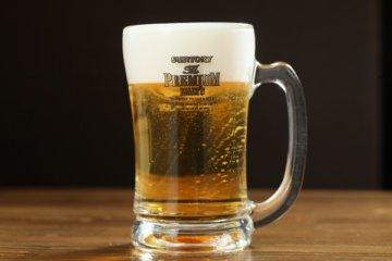 餃子居酒屋の生ビール
