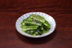 青菜の塩ナムル