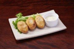 Dim Sum Croquette of Satoimo Potato