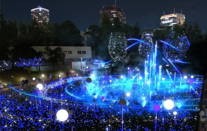 六本木クリスマスイルミネーション2019の画像