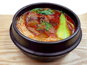 Spicy Hot pot beef Ramen
