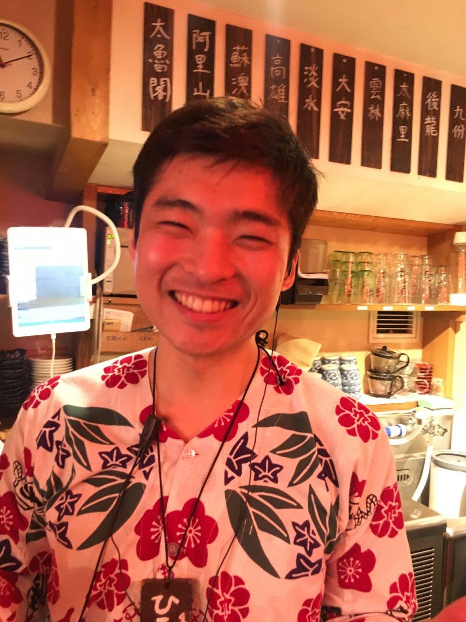 餃包の店長はこのお方です!!!の画像