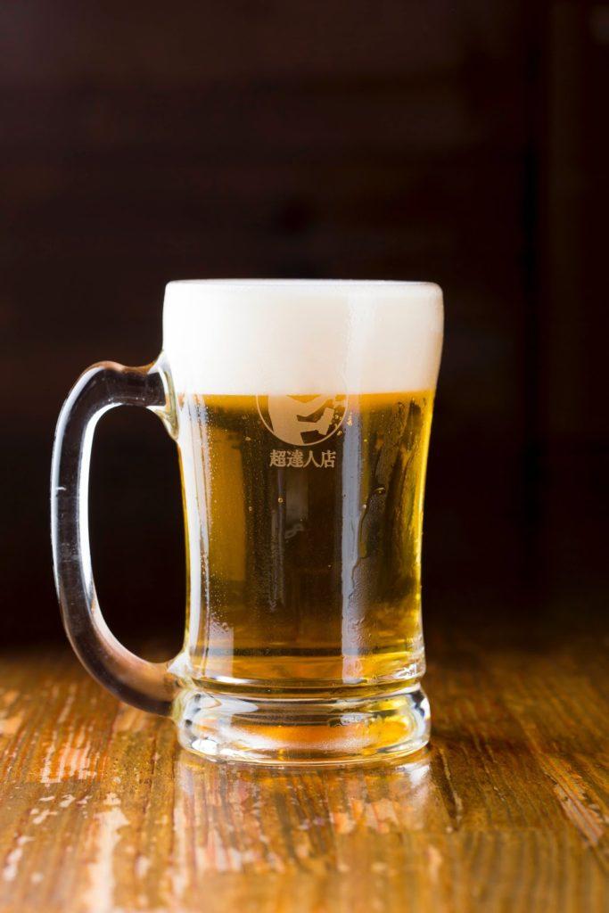 超達人店の生ビールを更に追求する